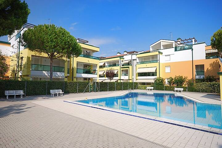 Residence Le Altane, Bibione Lido del Sole, trilocale, clima, lavattrice