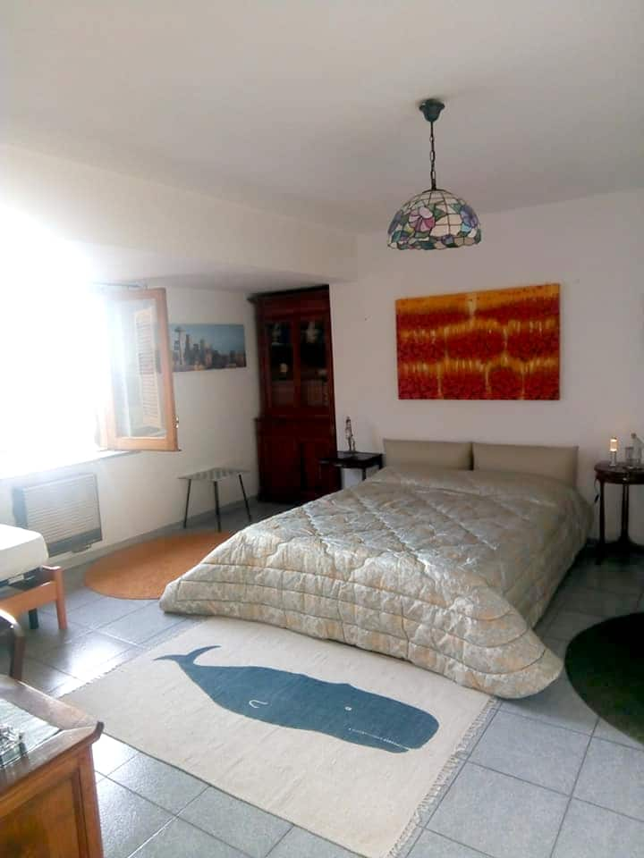 Apartment with one bedroom in Vibo Valentia, with wonderful city view and furnished terrace - 13 km from the beach