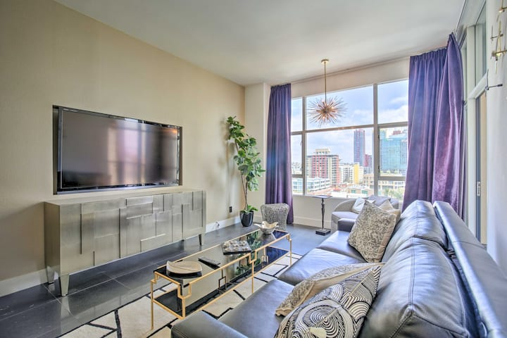 NEW! 11th-Floor Condo w/ Views, Gym Access & More!
