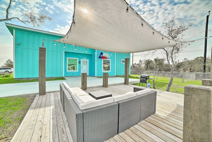 NEW! Coastal Home w/ Grill, 11 Mi to Local Beach!