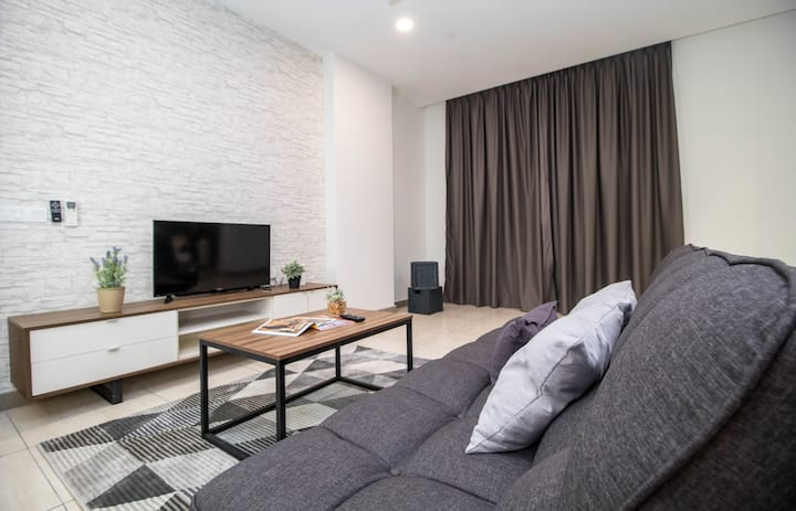 Octagon#4 2BR/6pax, Stay in the heart of Ipoh !