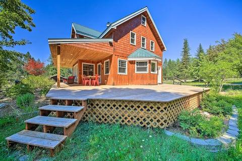NEW! Serene Retreat w/ Deck: Near Lake + Boat Ramp