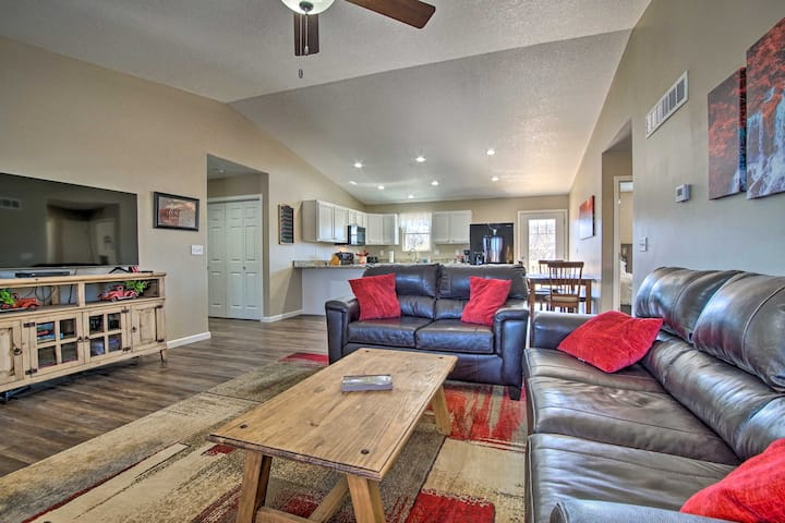 NEW! Spacious Home w/ Deck, Walk to Peter Pan Park