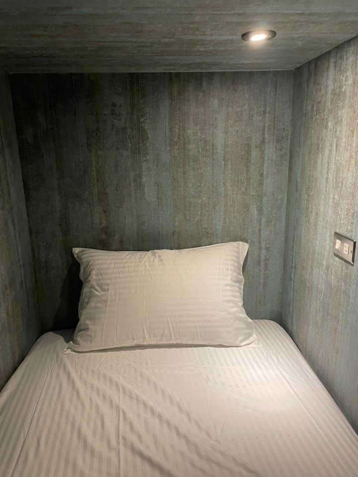 讓您感受舒適的男女混合單人床
