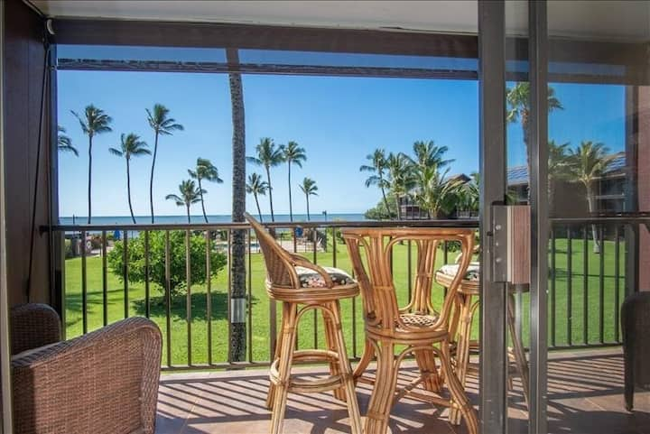 Second-Floor Condo w/Free WiFi, Shared Pool, Grills, and Ocean & Pool Views