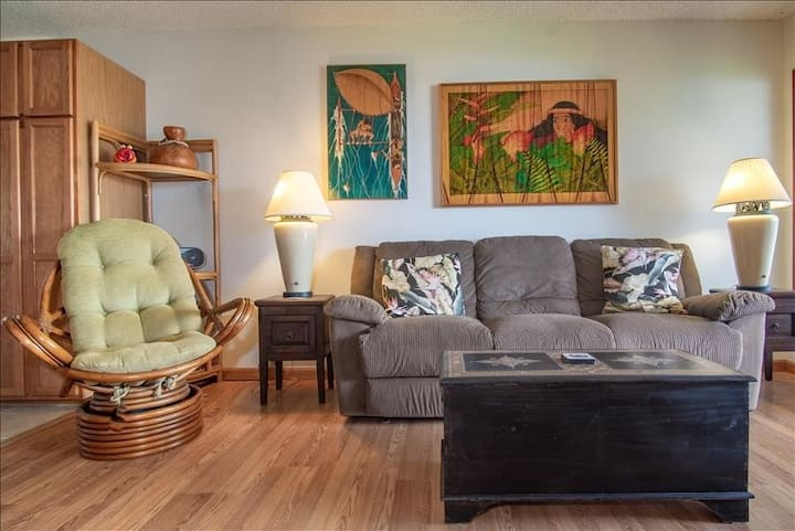Tropical Paradise Condo w/Shared Tennis Court & Pool + Free WiFi and Water Views