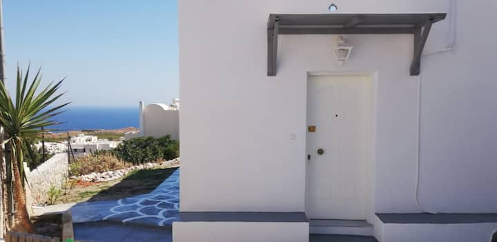 Santorini Seaview Garden - Perfect location - Fully Equipped