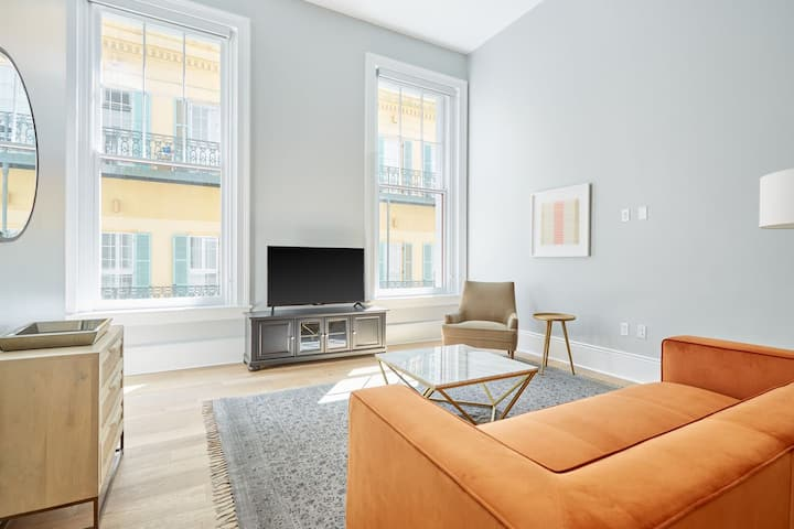 Sonder at The Vitascope | Beautiful 2BR in the French Quarter