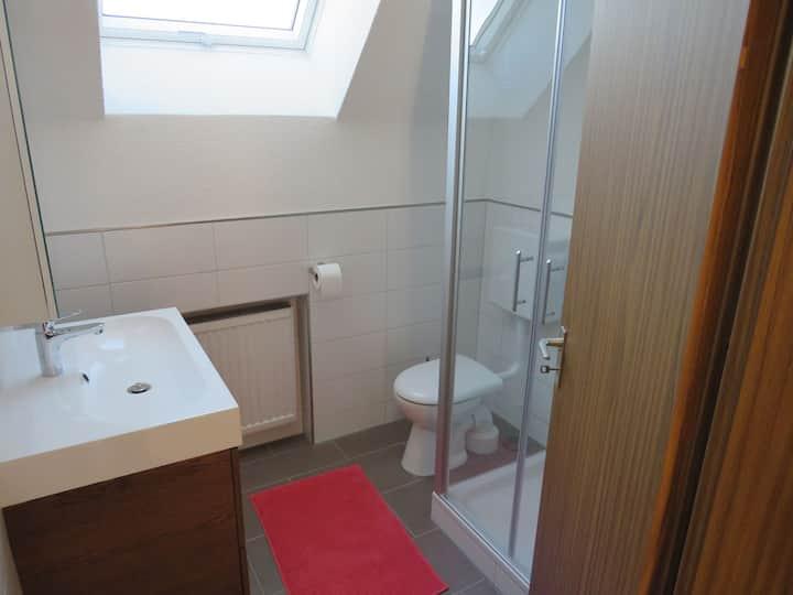 Ferienhaus Roßwangen, (Balingen), Ferienwohnung 2, 80qm, 3 Schlafzimmer, max. 6 Personen