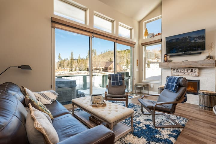 New listing | Rendezvous Cabin | Hot tub | Wandering Moose Retreat