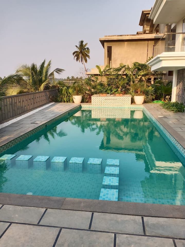 1BHK-The Calissa-Calangute-Elegant-Pool View