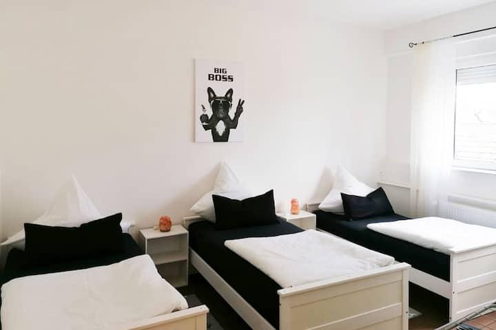 FR03c gemütliches 3-Zimmer-Apartment in Niederdorfelden