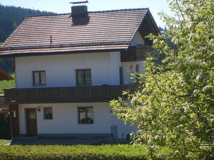 Ferienhaus Drachenland (Neukirchen b. Hl. Blut), Ferienhaus Drachenland 150qm mit beheiztem Gartenhaus u. Grillplatz mit Backofen im Garten