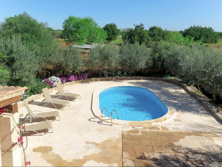 Holiday Home Cas Faroler with Pool, Wi-Fi, Air Conditioning & Garden; Parking Available