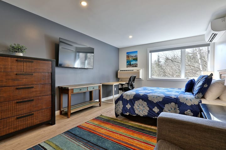 The Swirl Suite Annex - Studio w/ Kitchenette, Workspace, Mountain Location