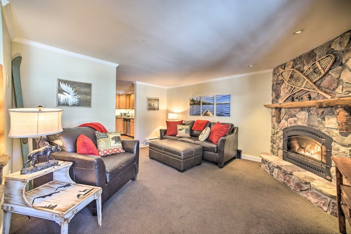 NEW! Cozy Condo by Mirror Lake + 1 Block to Dtwn!