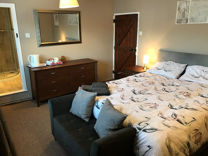 Double room-King-Ensuite with Shower-Street View