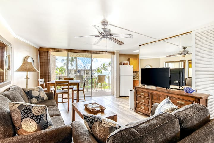 Inviting Condo w/Balcony, Free WiFi, Ocean Views, Shared Pool, and Washer/Dryer