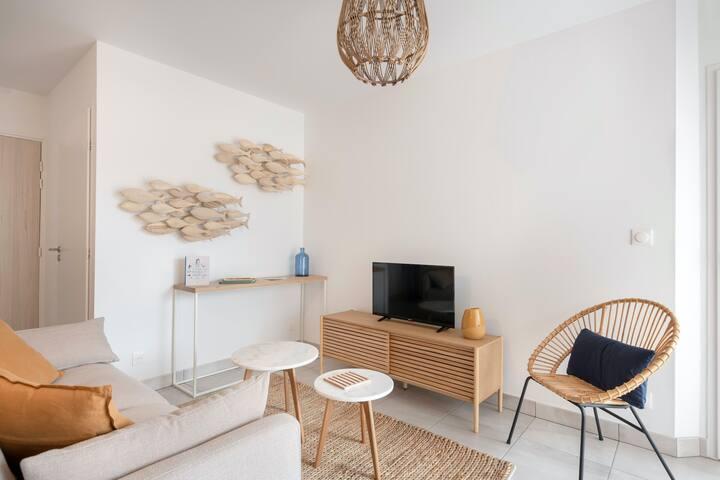 Le confort d'une nouvelle résidence en Bretagne