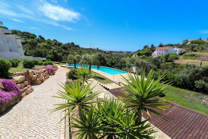Divine 3BDR Duplex House w/ Pool & Garden by LovelyStay