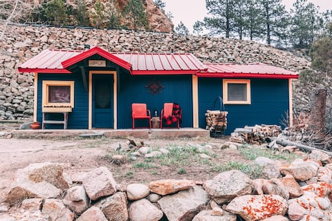 Miller Rock at Raymond Store Cabins