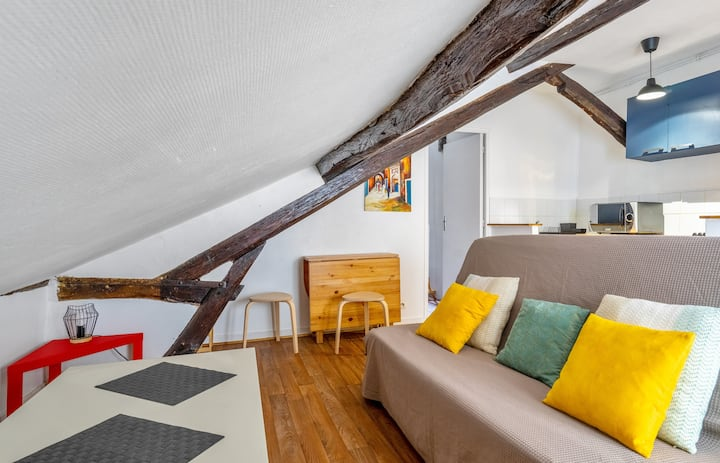 Charming flat at 3 min from Versailles castle - Welkeys