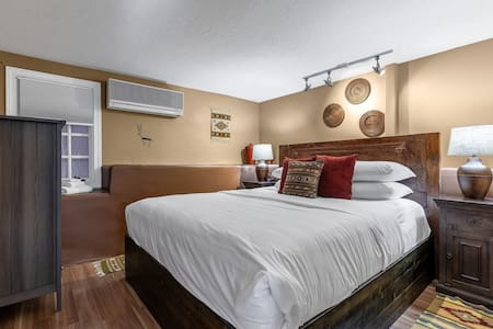 Bandolier Suite king bedroom