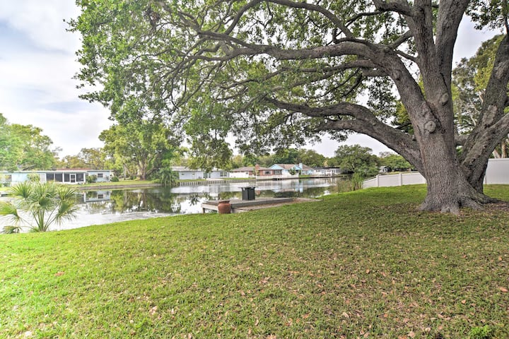 Private Yard | On-Site Lake Access | Private Dock
