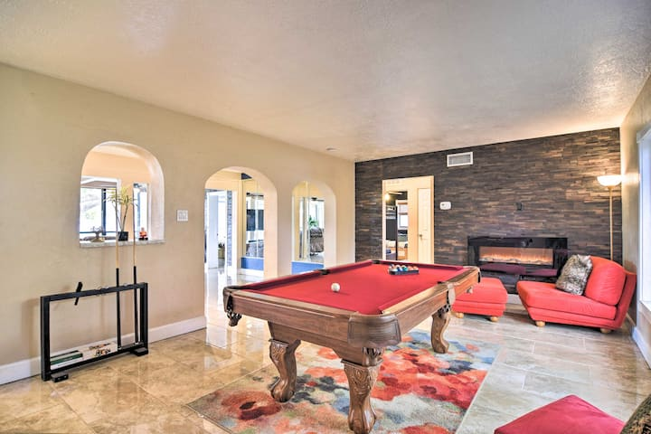 Game Room | Board Games | Electric Fireplace