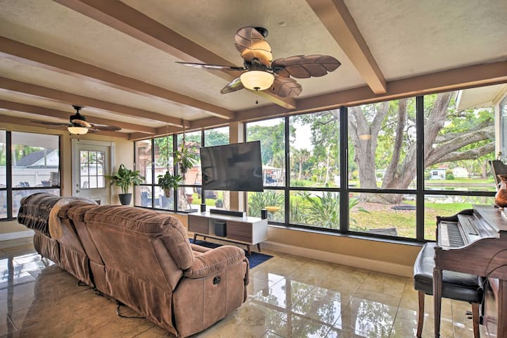 St. Petersburg Vacation Rental | 4BR | 2BA | Step-Free Access | 2,200 Sq Ft