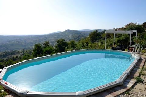 Classy Apartment in Cupramontana with Swimming Pool