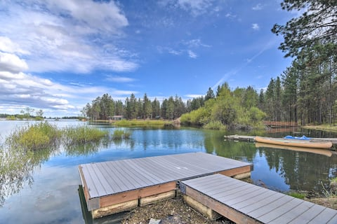 NEW! Hidden Gem w/ Views on Pine Hollow Reservoir!