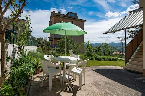 Holiday home in Cupramontana with furnished garden and bbq