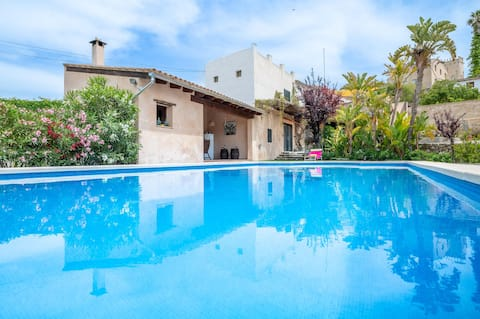 Vacation Home Son Goday with Mountain View, Pool, A/C, Wi-Fi & Terrace; Pet-Friendly