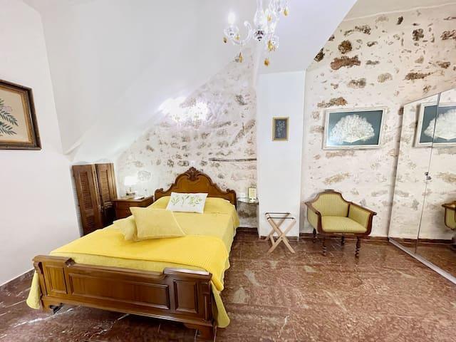 Cozy bedroom area