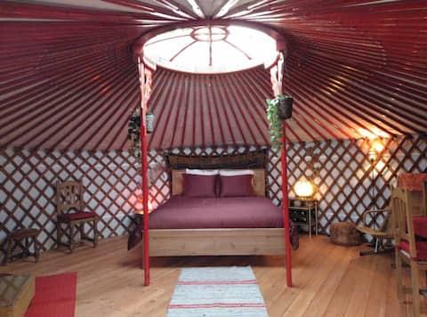 Yurta original de Mongolia