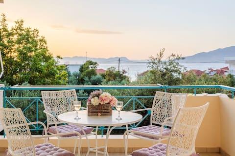 Seaview Terrace Haven-Perfect Location Near the Sea