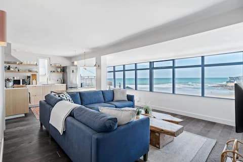 Beach House with Sea Views from Every Room