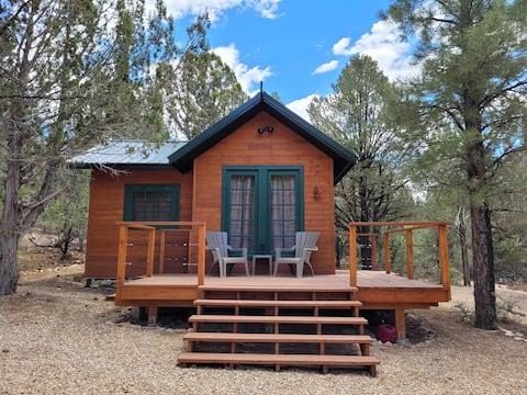 東ザイオン国立公園のシンプルな小屋で暮らそう