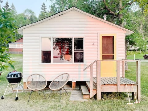 Lebron's Camp #2 - vintage beach front cabin by Bowerbird Stays