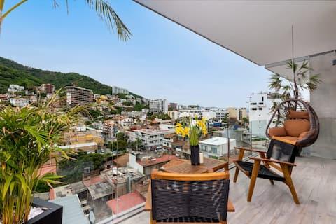 Casa De La Montaña - Super Studio In Stunning New Avida Residences!