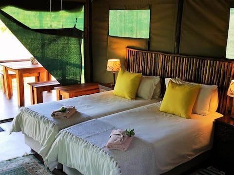 Luxury Tented En-Suite Chalets
