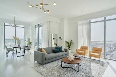 Sonder | Downtown Towers | Two-Bedroom Apartment w/ Panoramic Views