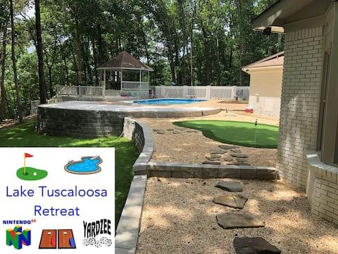 🥇Lake Tuscaloosa Retreat | 5BR, Putting Green, Pool & More! By Infinite Returns
