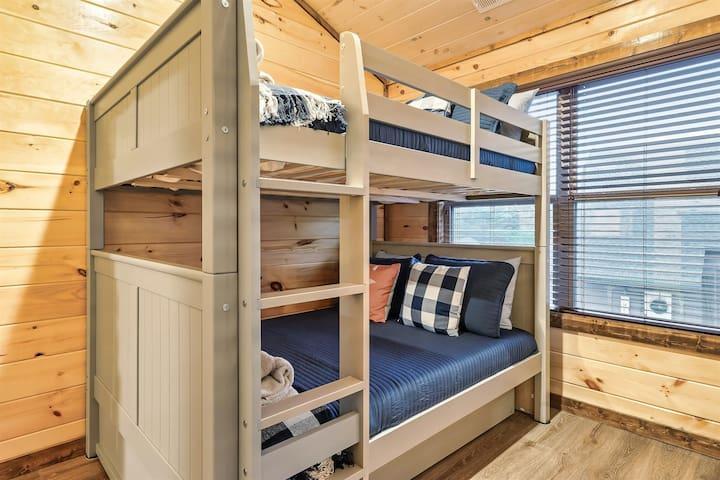 bunk room full over full