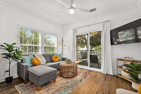 Treetop Cottage - 3 blocks from Historic District