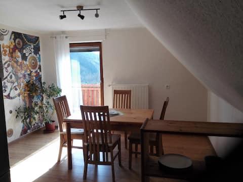 Ferienwohnung Amelie (Steinwiesen), Ferienwohnung Amelie mit kostenfreiem WLAN