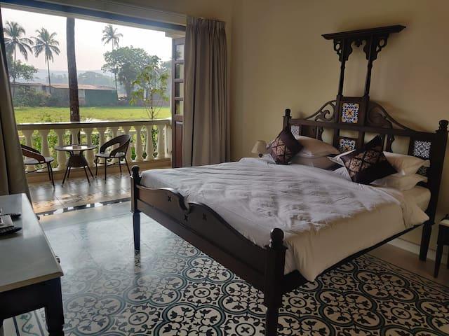 A classy bedroom giving you proper Phuket feels