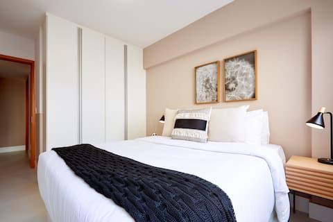Apartamento alto padrão 5 min da praia de Ipanema