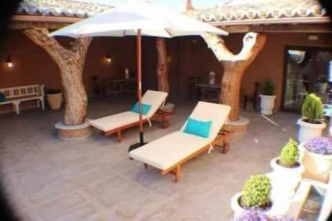Habitación Doble con desayuno en Siruela
